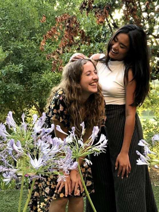 Brooke Johnston and Shaira Busnawi,