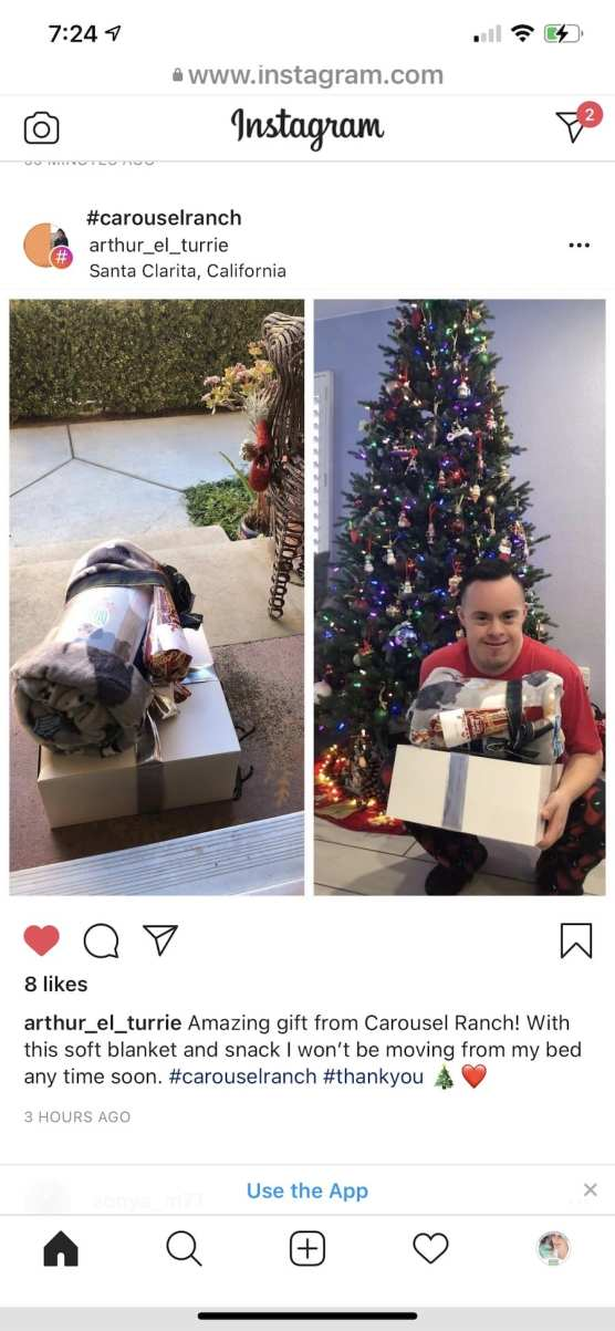 Arthur Instagram Post