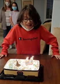 Benny turns 10 at Promise Family Transitional Home