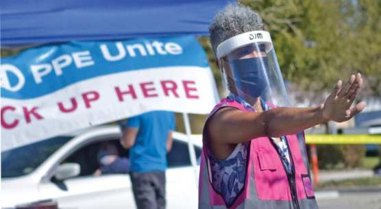 united ppe and scv chamber teamed up to distribute equipment