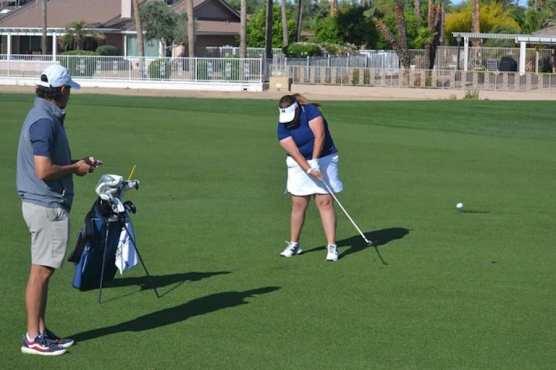 Lady Mustangs Golf