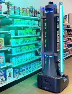 badger uv disinfect robot