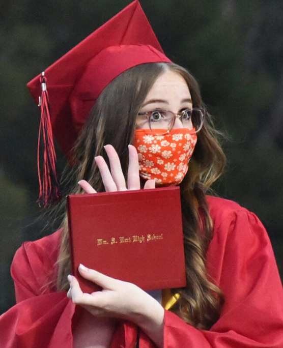 2021 graduate Ella Forgrave