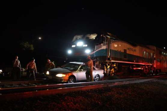 Vehicle Versus Train Incident