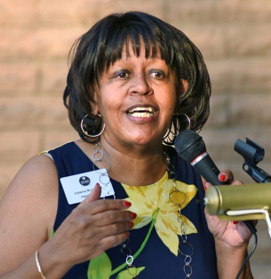 NAACP Santa Clarita Branch President Valerie Bradford