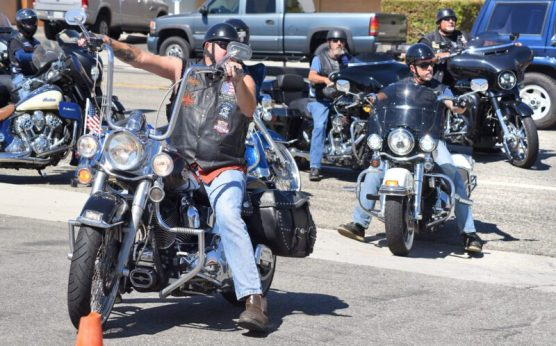 Members of the Canyon Hogs and Elks Lodge 2098