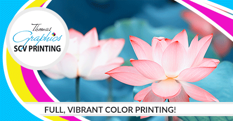 Full Color Prints Make a Difference!   SCV Printing – Thomas Graphics