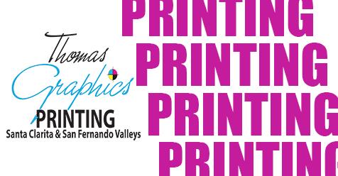 Printing Services SCV & SFV | Thomas Graphics, Since 1998