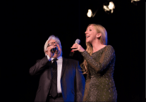 Singers perform during the Frank Sinatra 100 performance at West Ranch High School.
