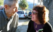 with Rancho Camulos Museum board president Judy Triem