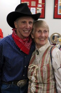 "Johnny Crawford (from TV's ""The Rifleman"") with Laurene Weste"