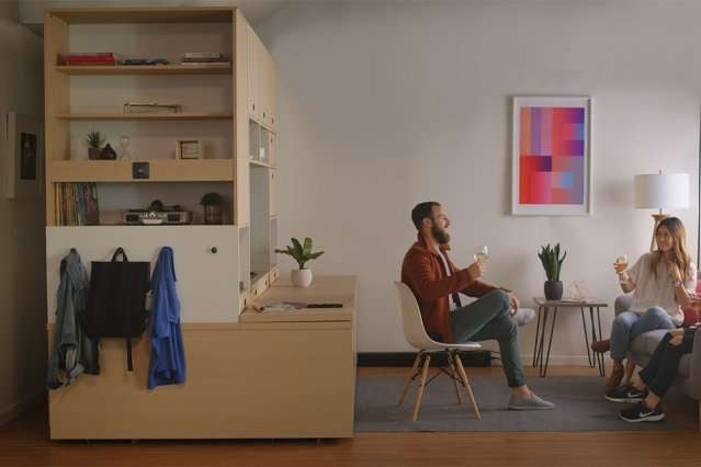 Es In Tiny Apartments Into Bedrooms