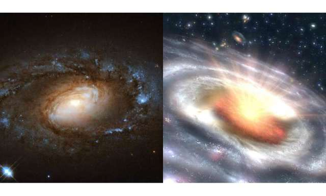 UMD-led study captures six galaxies undergoing sudden, dramatic transitions