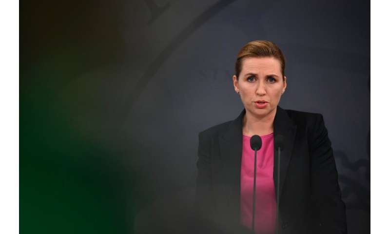 "Denmark's Prime Minister Mette Frederiksen said ""the eyes of the world are on us"""