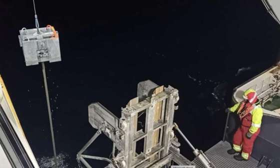 The moon controls methane emissions in the Arctic Ocean
