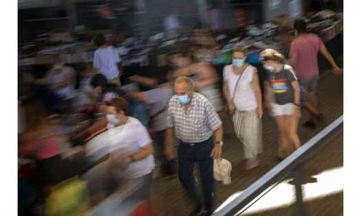 Face masks mandatory in northeast Spain amid virus uptick