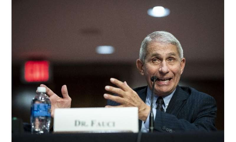 Anthony Fauci, director of the National Institute of Allergy and Infectious Diseases, warned that the US could see 100,000 new c