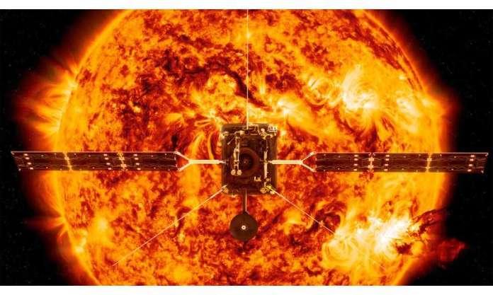 Solar Orbiter decola para capturar primeiro olhar para os pólos do sol