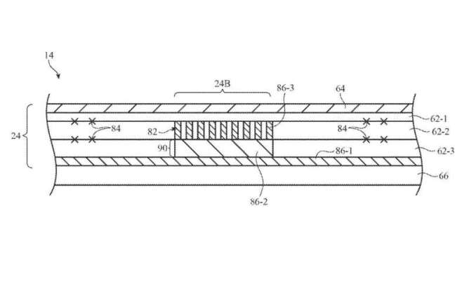Apple applies for a patent on self-healing phone display technology