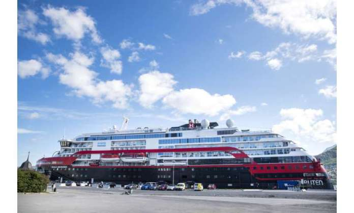 Another cruise ship in Norway stalled amid infection fears