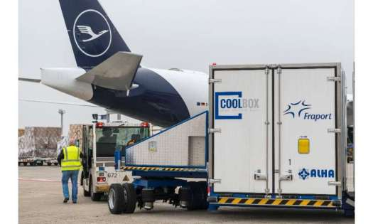 Logistics are crucial, with Frankfurt airport a hugely important handling hub for the vaccine and its special, deep freeze conta
