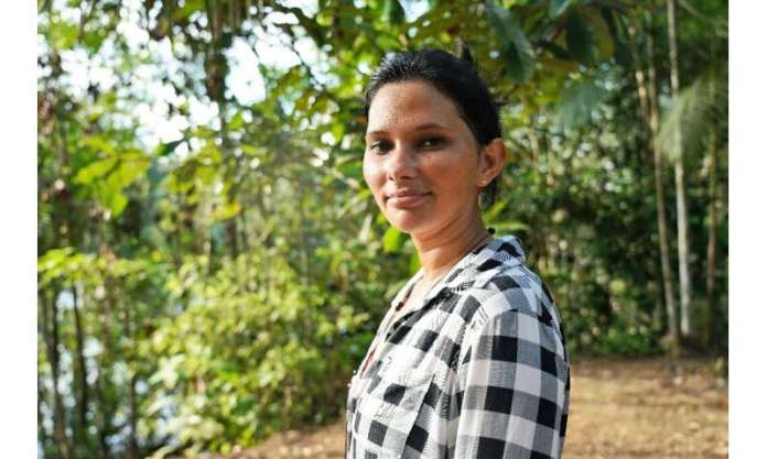 Maria Cunha, 26, is a volunteer ranger with degrees in sustainable production techniques
