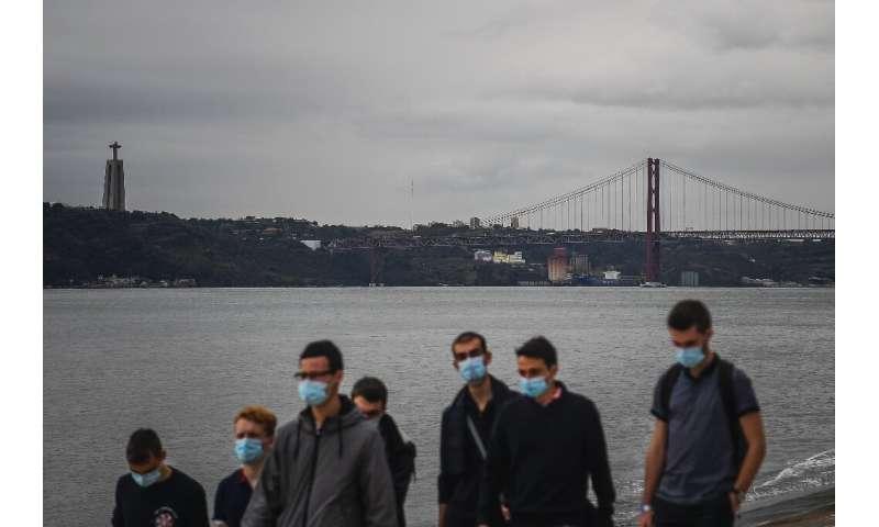 Portugal has made wearing masks outside compulsory