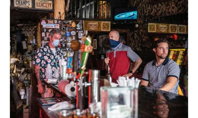 Texas governor Greg Abbott said he had allowed bars to reopen too soon