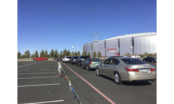 Going big: US dispensing shots at stadiums and fairgrounds
