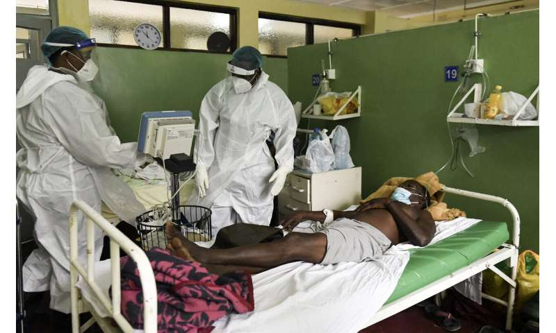 Malawi setting up field hospitals to cope with virus surge