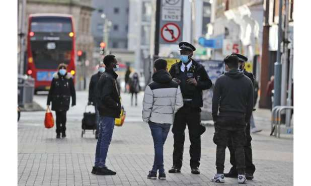 'Eye of the storm': Diverse east London grapples with virus