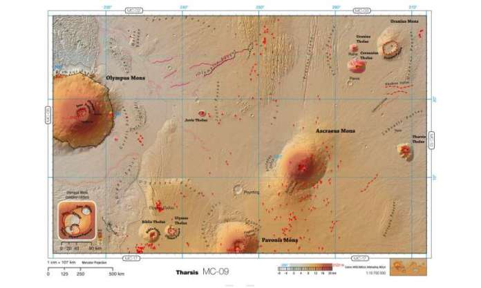मंगल ग्रह के लिए एक पॉकेट गाइड