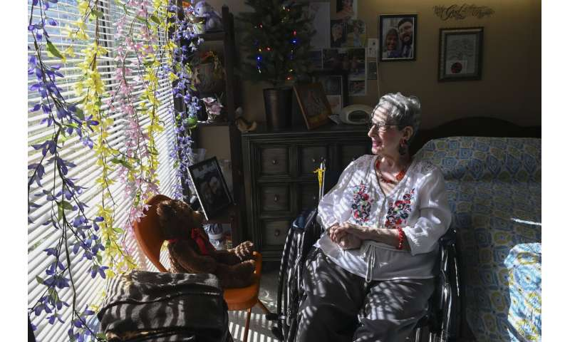Coronavirus cases drop at US homes for elderly and infirm