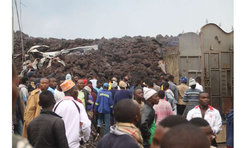 Volcanic eruption, ensuing chaos kill at least 15 in Congo