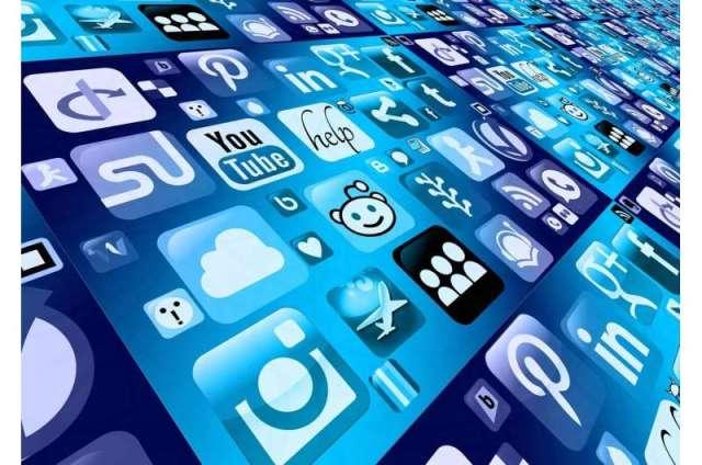 des médias sociaux