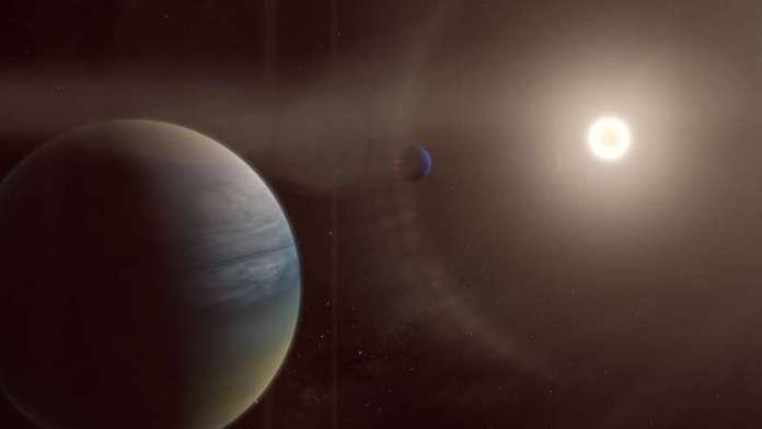 नागरिक वैज्ञानिकों ने एक चमकीले, सूरज जैसे तारे के चारों ओर दो गैसीय ग्रहों की खोज की