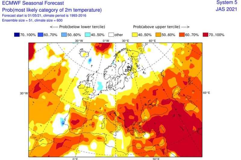 Europe has had a cold and wet spring – but will it last through summer?