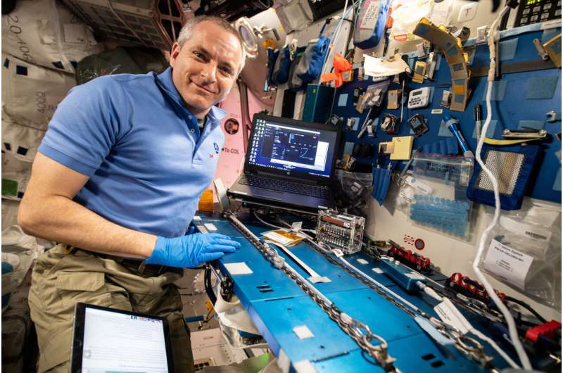International Space Station experiment expands DNA research toolkit using CRISPR