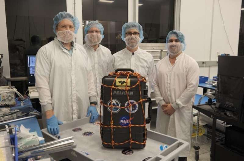 LunaH-Map spacecraft safely delivered to NASA's Kennedy Space Center