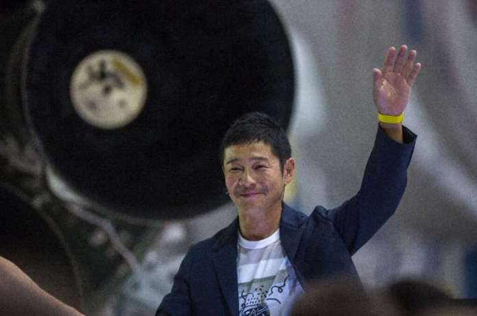 Maezawa paid an undisclosed sum for the right to join the lunar mission, currently scheduled for sometime in 2023