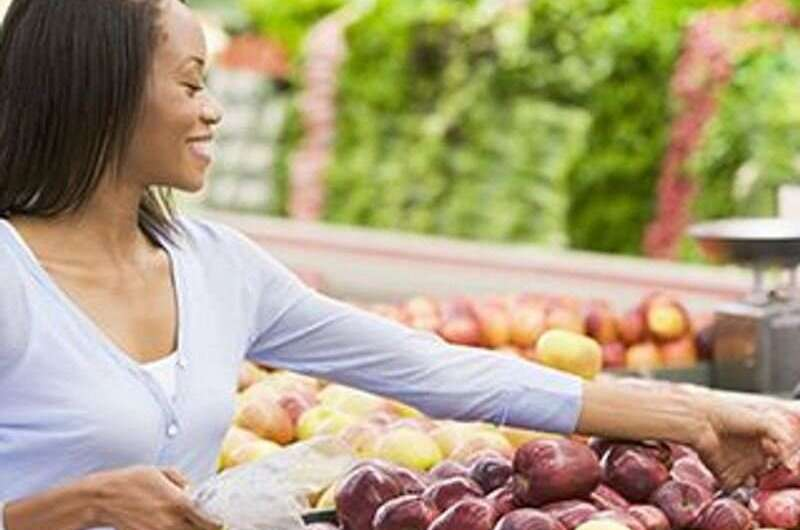 Many U.S. adults aren't getting healthy amounts of fruits, vegetables