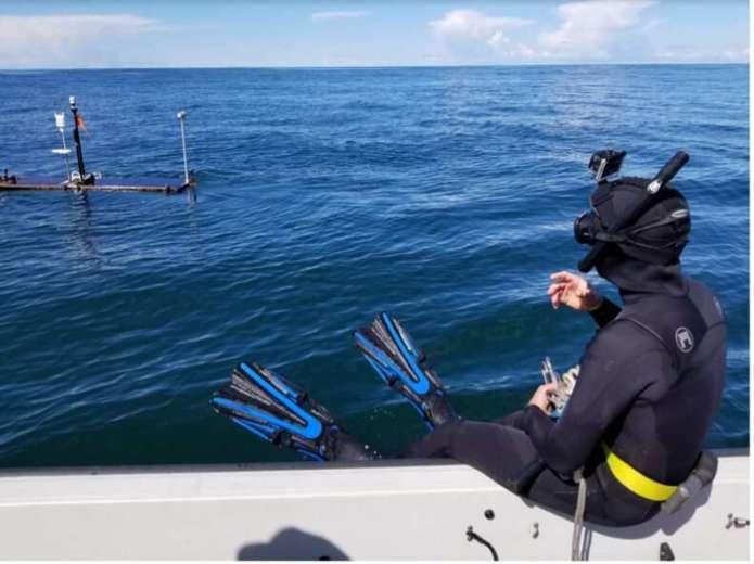 नासा का एस-मोड समुद्र के किनारों का अध्ययन करने के लिए हवा और समुद्र में ले जाता है