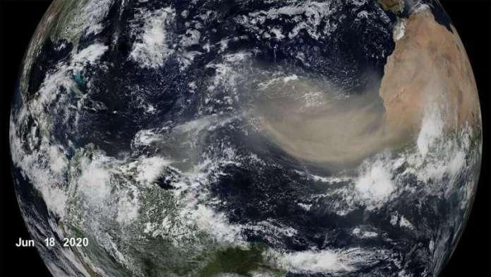 नासा का अध्ययन भविष्य की हवाओं में कम सहारन धूल की भविष्यवाणी करता है