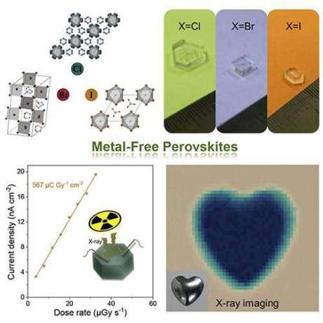 Researchers fabricate bio-friendly X-ray detectors based on metal-free perovskite single crystals