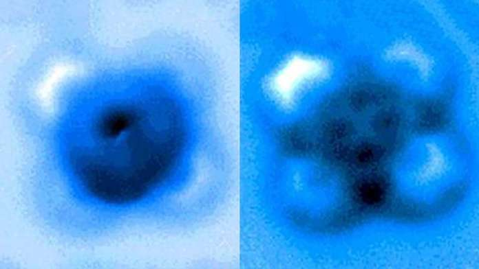 Researchers measure the breakup of a single chemical bond
