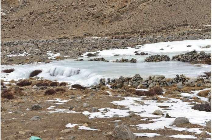 ऊपरी सिंधु पर मौसमी जल संसाधन