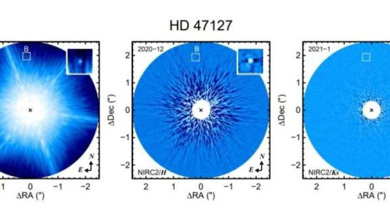 Substellar companion of HD 47127 detected by astronomers