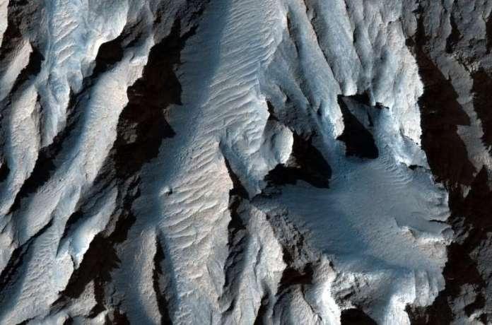 The obliquity of Mars—periodic bedding in Tithonium Chasma