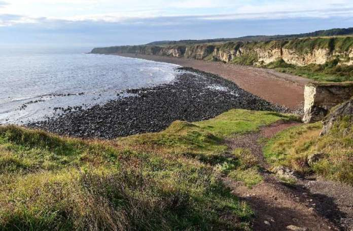 Waste from the colliery was tipped directly onto Seaham's beach until its closure in 1991