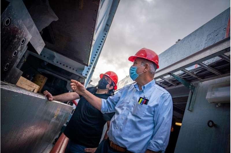 World's largest outdoor earthquake simulator undergoes major upgrade